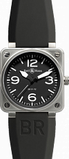 Bell & Ross Aviation BR 01-92 46 mm BR 01-92 Steel
