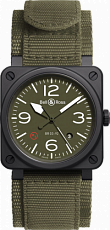 Bell & Ross Aviation BR 03-92 Military BR03-92-MIL-CE