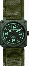 Bell & Ross Aviation BR 03-92 42mm Automatic BR 03-92 Military Ceramic