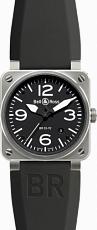 Bell & Ross Aviation Steel BR 03-92 Steel