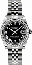 Rolex Datejust 26,29,31,34 mm 31 mm Steel and White Gold 178384 bkrj