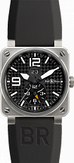Bell & Ross Aviation GMT 42 mm BR 03-51 Titanium