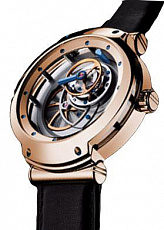 Blu Tourbillons 43 mm RG MT3/030.50.7/D
