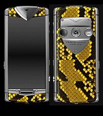 Vertu Constellation Touch Python Yellow