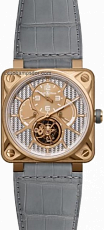 Bell & Ross Aviation BR 01 46mm Tourbillon BR 01 Tourbillon Pink Gold Aluminium