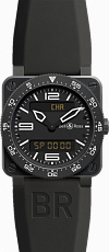 Bell & Ross Aviation BR 03 Type Aviation Carbon BR 03 Type Aviation Carbon