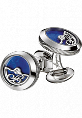 Breguet Accessories Cufflinks rotor white gold and lapis lazuli 9907BBLS