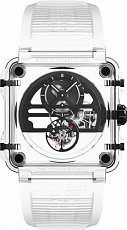 Bell & Ross High-Tech BR-X1 SKELETON TOURBILLON SAPPHIRE BLACK BRX1-SKTB-SABLK