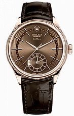 Rolex Cellini Dual Time 39 mm 18 ct Everose Gold 50525-0015