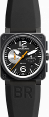Bell & Ross Aviation Chronograph BR03-94 BLACK
