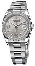 Rolex Datejust 36mm Steel and White Gold 116244 Silver