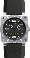 Bell & Ross Aviation BR 03 Type Aviation Steel br-03-type-aviation-steel